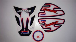 Honda CBR Racing Tank Pad Set